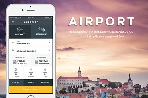 Airport iOS UI Kit