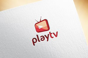 Playtv Logo Template