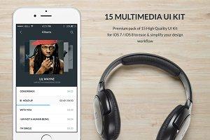 Multimedia UI Kit