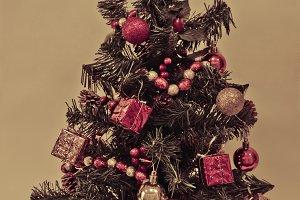 Xmas tree vintage style