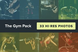 The Gym Photo Pack (33 Photos)