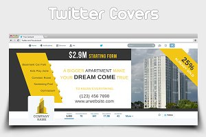 Apartment Sell Twitter Covers