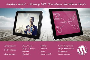 Creative Board - Drawing SVG Plugin