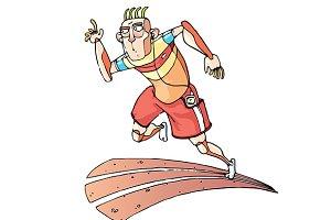 Running Sprinter