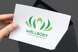 Well Body Human Logo