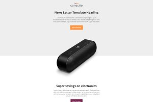 Conectio newsletter template