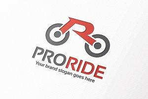 Ride Letter R Logo