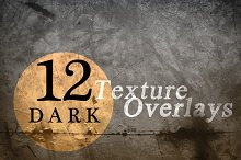 Dark Texture Overlays