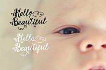 baby photo overlay, clip art