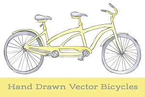 Vector Bicycle Clipart