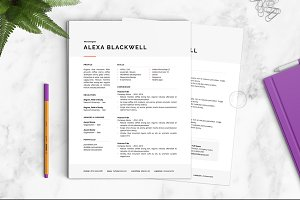 Resume Template | The Alexa
