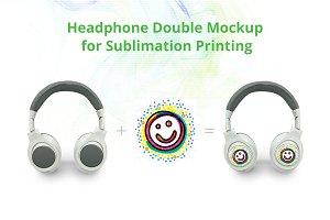 Headphone Double Mock-up