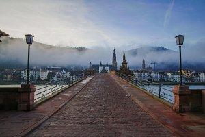 Foggy Town, Heidelberg