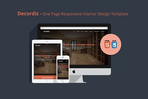 Decordiz - Interior Design Template
