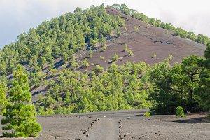 Beautiful mountain landscape in La P