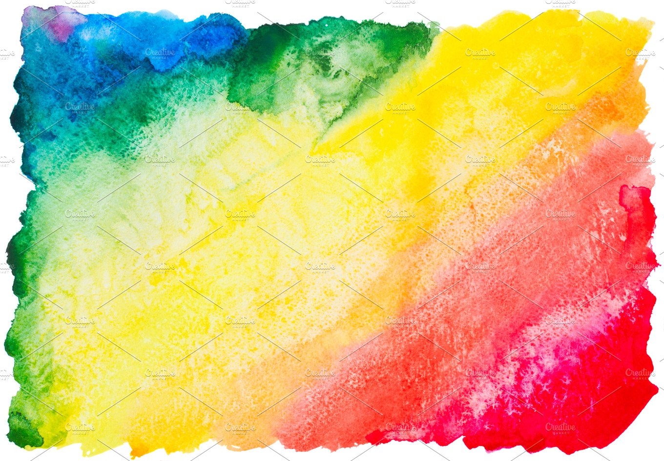 Colorful Watercolor Rainbow Background Abstract Photos