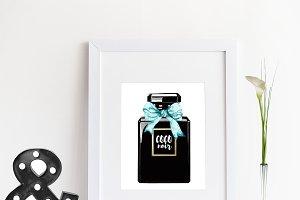 Custom perfume noir