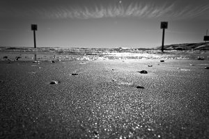 Black & White Beach