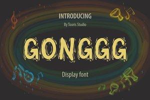 GONGGG FONT DISPLAY