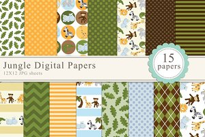 Jungle Digital Papers