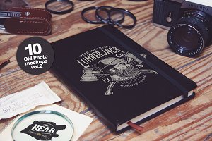 10 Old Photo Mockups vol.2