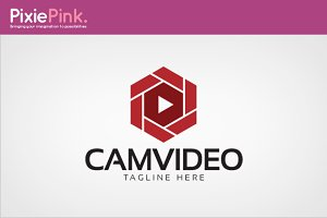 Cam Video Logo Template