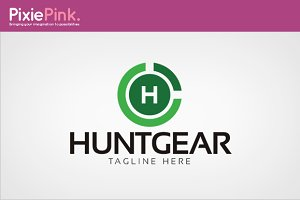Hunt Gear Logo Template