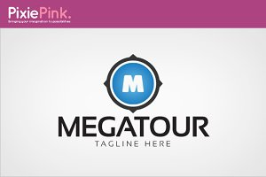 Mega Tour Logo Template
