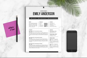 Resume Template | The Emily