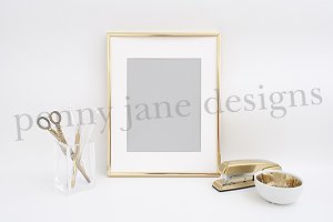 Gold Frame Styled Stock Photo #F102