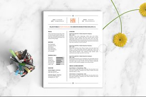 Resume Template | The Hannah