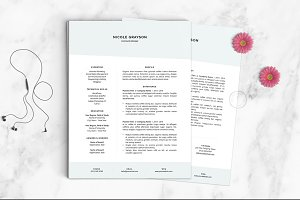 Resume Template | The Nicole