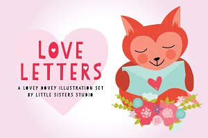 Love Letters Vector Pack