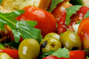 Fresh Tomatoes Salad