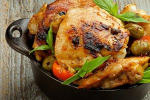 Crispy Roasted Chicken