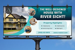 Real Estate Business Billboard