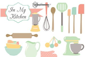 Kitchen Clipart & Vectors
