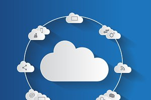 Cloud computing technology abstract