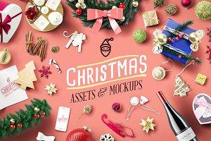 Christmas Assets & Mock Ups