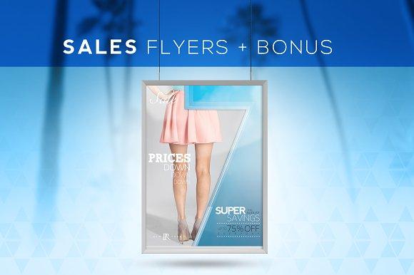 The Arrow Sales Flyers