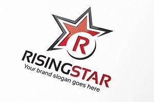 Rising Star Letter S Logo