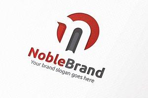 Noble Brand Letter N Logo
