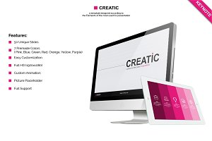 Creatic - Keynote Template