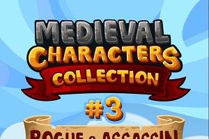 Medieval Game Sprites Characters 3