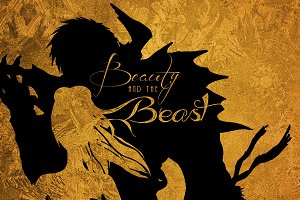 Beauty and the Beast -Poster Graphic