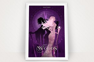 Into the Woods Poster Graphic