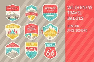 Wilderness Travel Badges