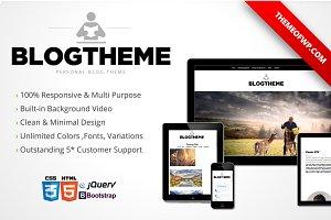 BlogTheme Responsive Bootstrap HTML