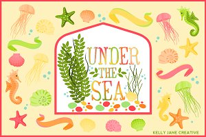 Under the Sea - Pastel