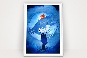 Shakespeare's Tempest Poster Graphic